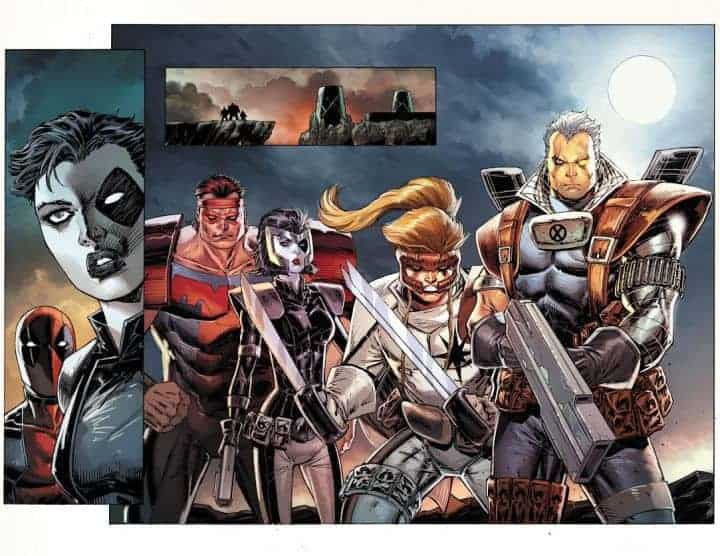 All the X-Force members!