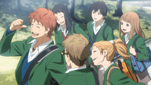 Main characters from ORANGE