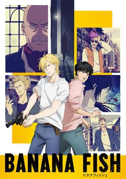 Summer anime BANANA FISH