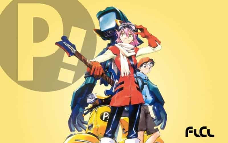FLCL promotional from the first season.