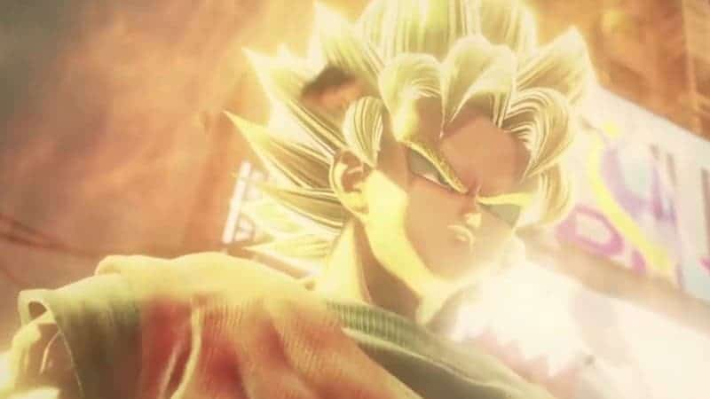 Goku in the new JUMP FORCE