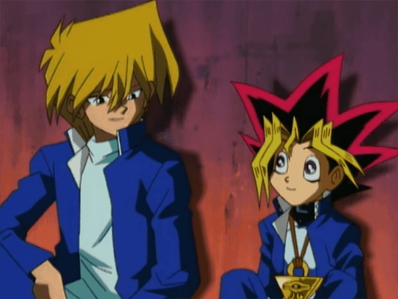 Yugi Muto & Joey Wheeler from YU-GI-OH DUEL MONSTERS