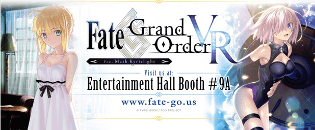 FATE/GRAND ORDER VR EXPERIENCE Anime Expo 2018 Visual
