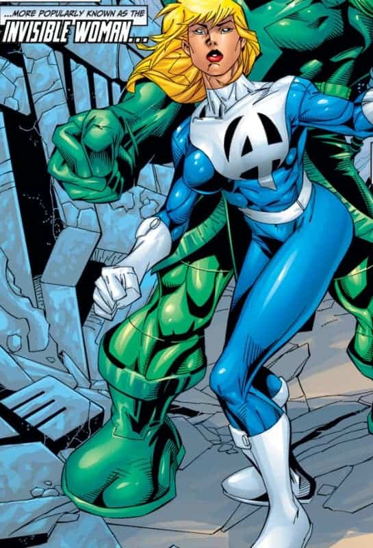 Marvel Alternate Costumes- Invisible Woman