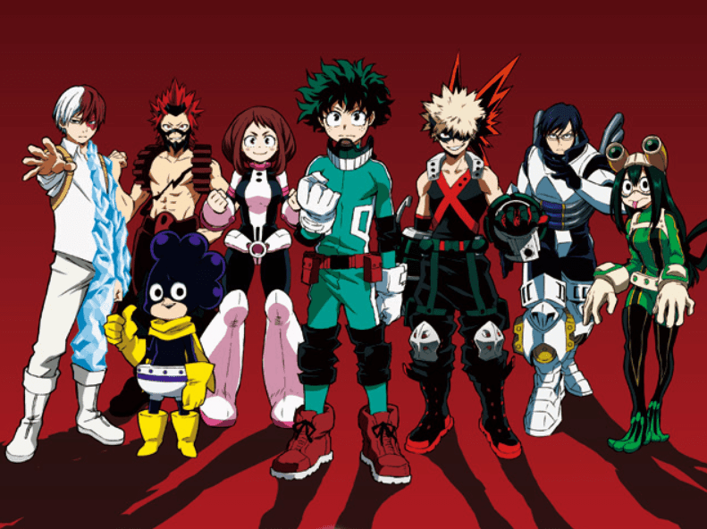 MY HERO ACADEMIA Class 1-A: Ranked
