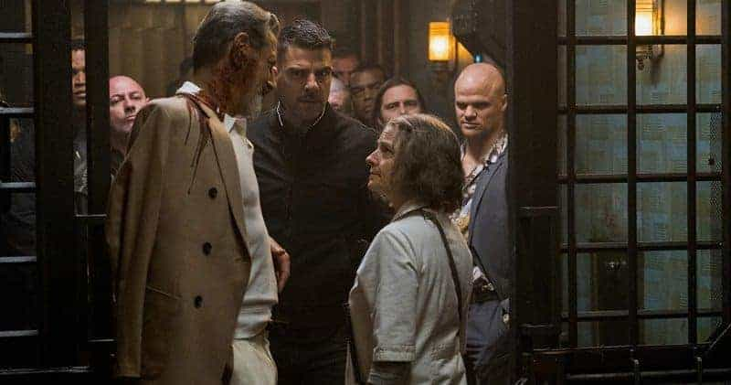HOTEL ARTEMIS: The Wolf King arrives