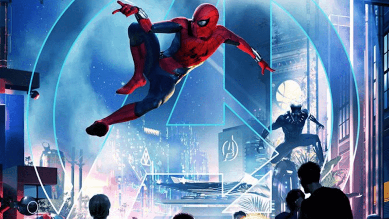Marvel-Themed Attractions