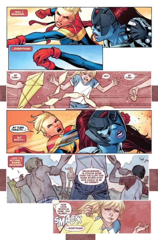 the life of captain marvel #1
