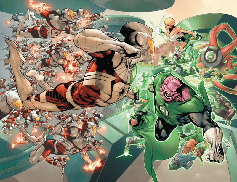 HAL JORDAN AND THE GREEN LANTERNS CORPS #48