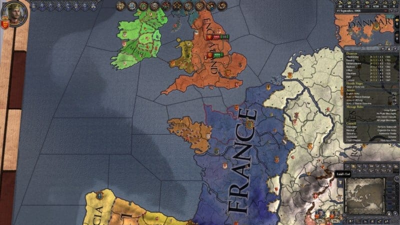 Crusader Kings screenshot