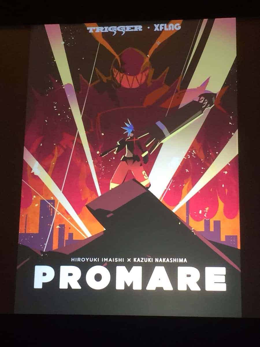 PROMARE Key Visual released at anime expo 2017