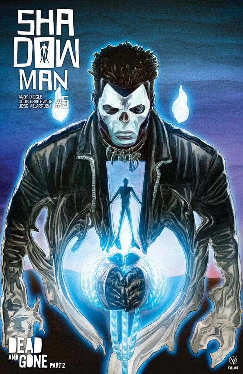 SHADOWMAN #5 preview variant cover
