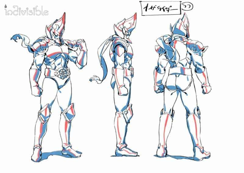 Nagarider character model