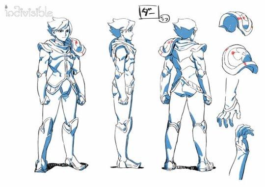 Dar character model