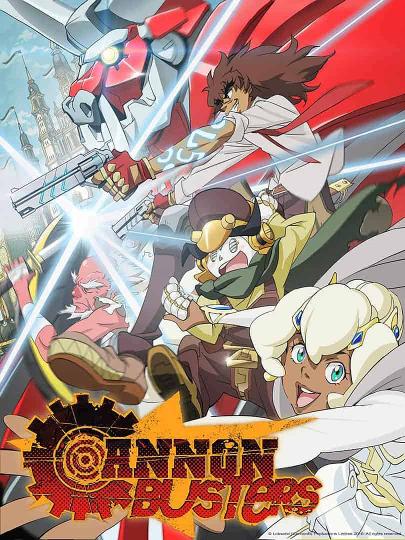 Upcoming anime CANNON BUSTERS