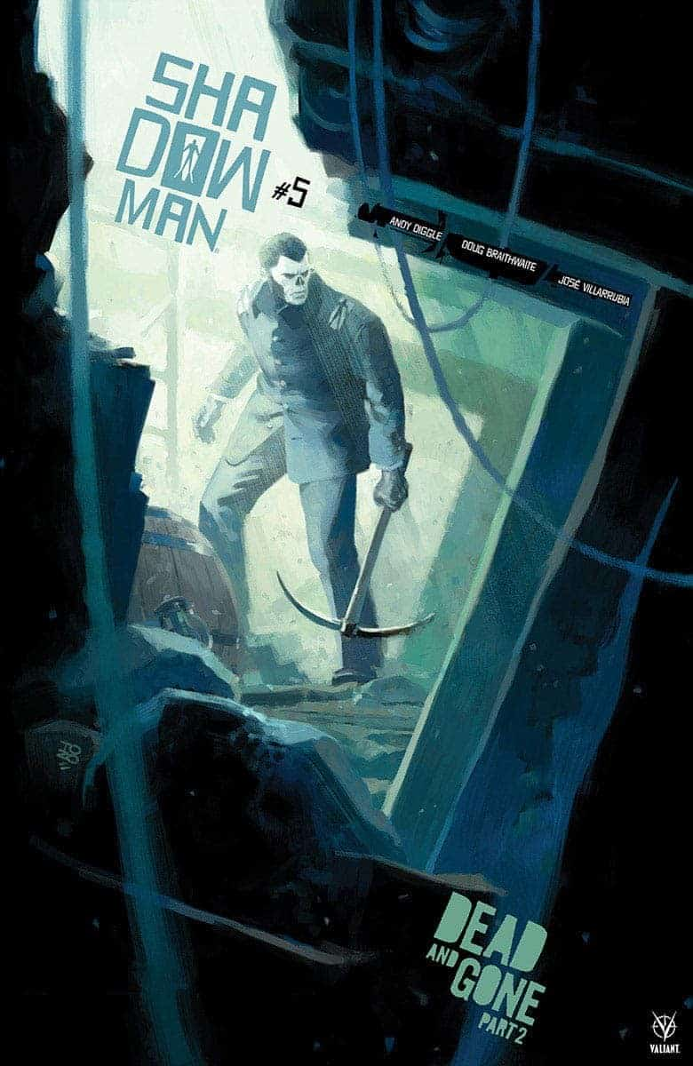 SHADOWMAN #5 preview cover