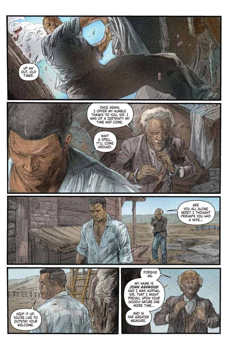 SHADOWMAN #5 preview page 2
