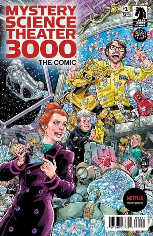 MST3K: Cover to #1