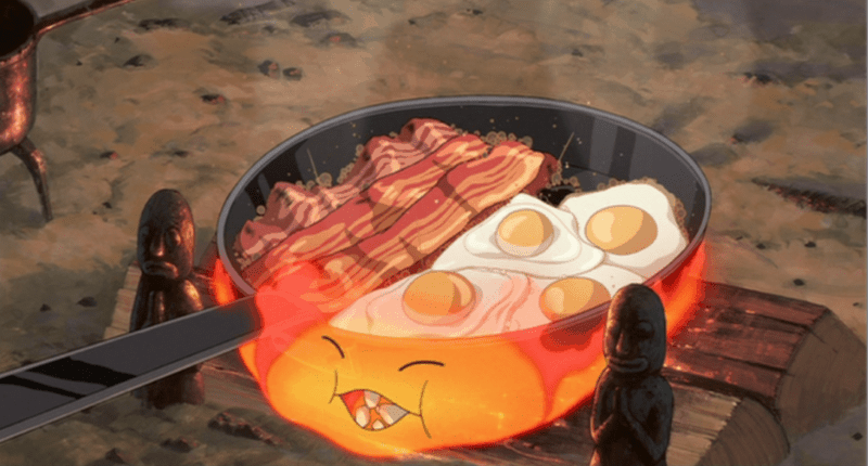 howls-moving-castle-bacon-eggs-breakfast-foods
