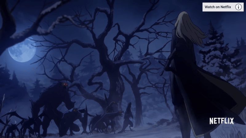 Alucard Facing Monsters