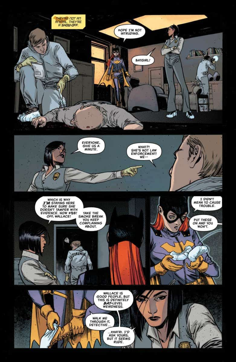 BATGIRL ANNUAL #2 Exclusive Preview page 4