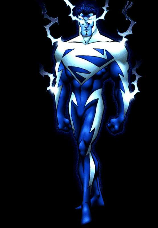 DC Alternate Hero Costumes: Electric Blue Superman