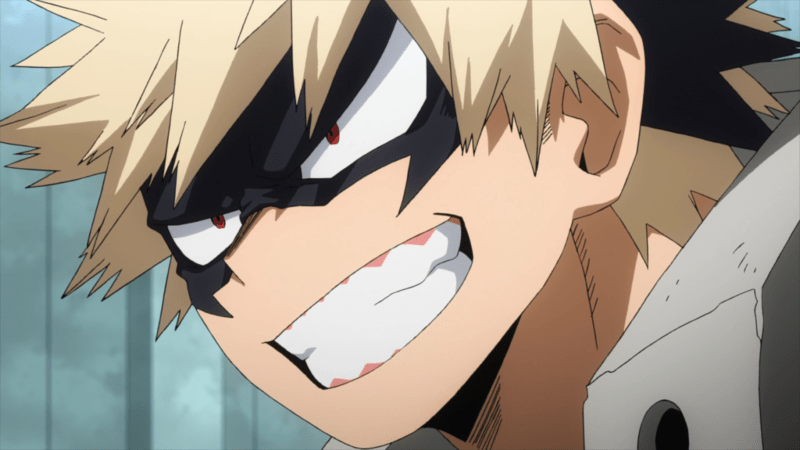 Katsuki Bakugo, the most explosive character in MY HERO ACADEMIA