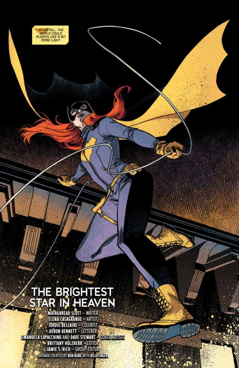 BATGIRL ANNUAL #2 Exclusive Preview page 2