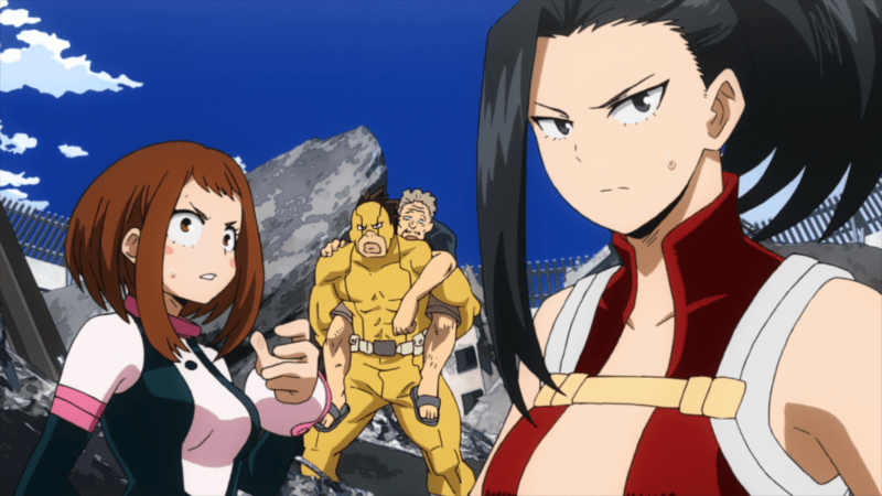 MY HERO ACADEMIA Episode 57 Review: Rescue Gets Ridiculous