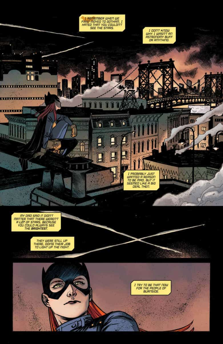 BATGIRL ANNUAL #2 Exclusive Preview page 1