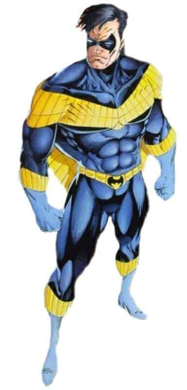 DC Alternate Heroes: Nightwing Yellow Wings Costume