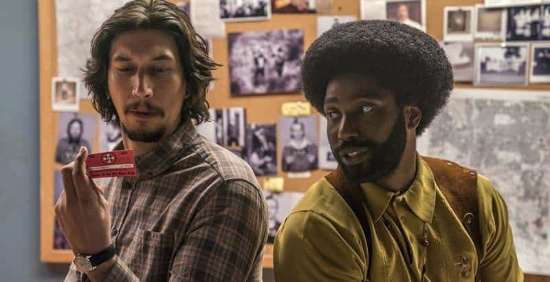 Short Take 1: BLACKkKLANSMAN
