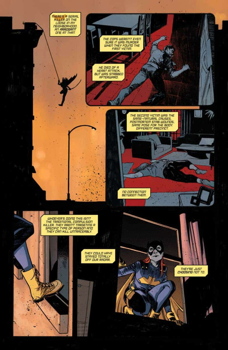 BATGIRL ANNUAL #2 Exclusive Preview page 3