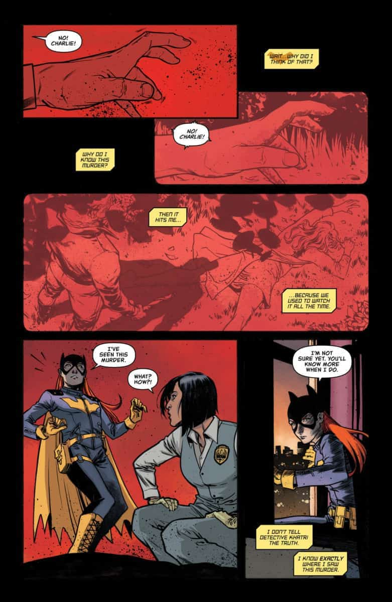 BATGIRL ANNUAL #2 Exclusive Preview page 7