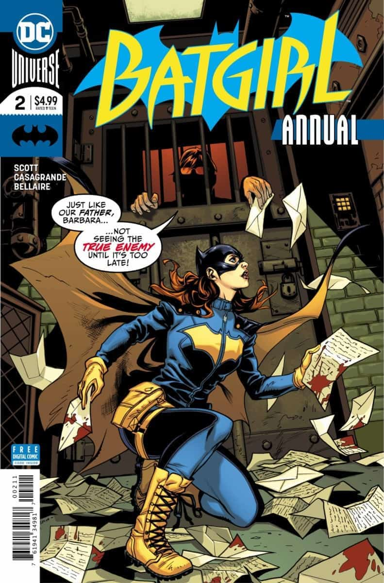 BATGIRL ANNUAL #2 Exclusive Preview cover