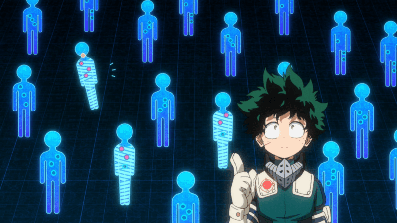 MY HERO ACADEMIA is increasingly becoming better at good forms of combat.