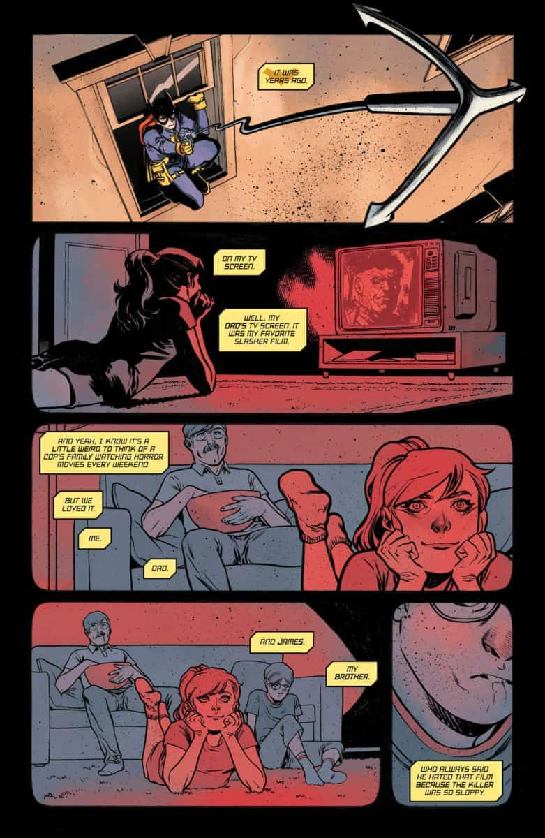 BATGIRL ANNUAL #2 Exclusive Preview page 8
