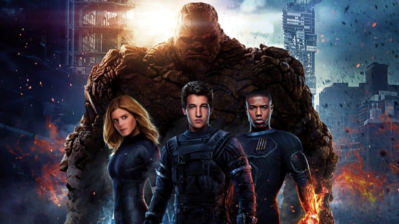 The Fantastic Four 2015 poster