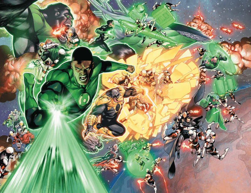 HAL JORDAN AND THE GREEN LANTERN CORPS #50