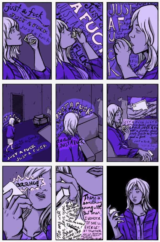 The Anxiety of Alma Fischer by Justin Alba page 2