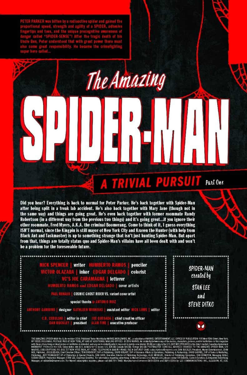 AMAZING SPIDER-MAN #6 page 2