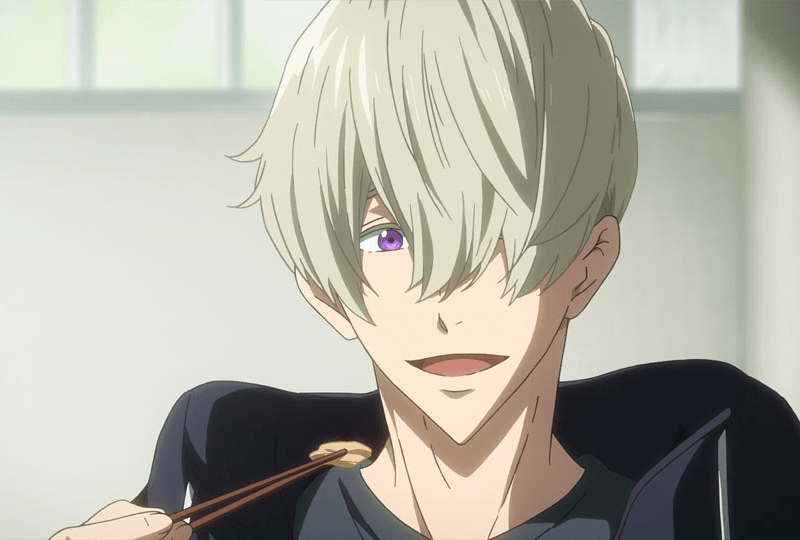 Albert, Haru's new rival in FREE! DIVE TO THE FUTURE