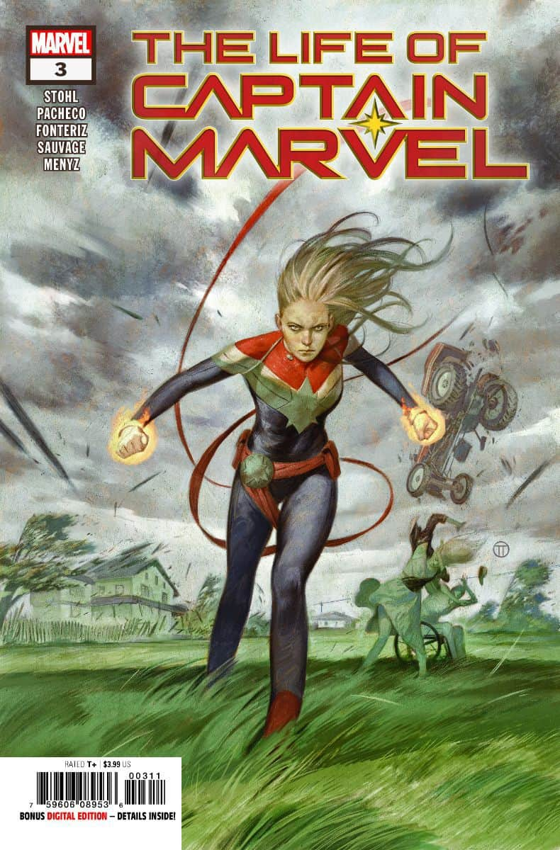 life of captain marvel #3