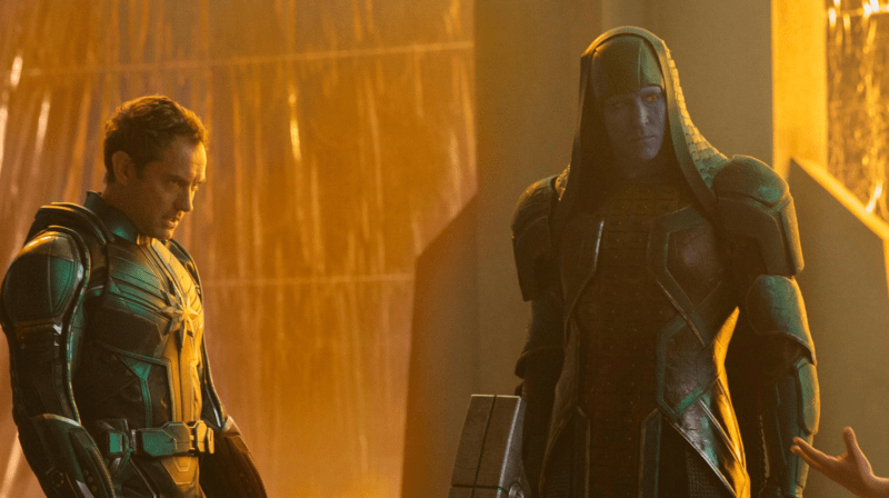 Image result for kree and skrulls in movie