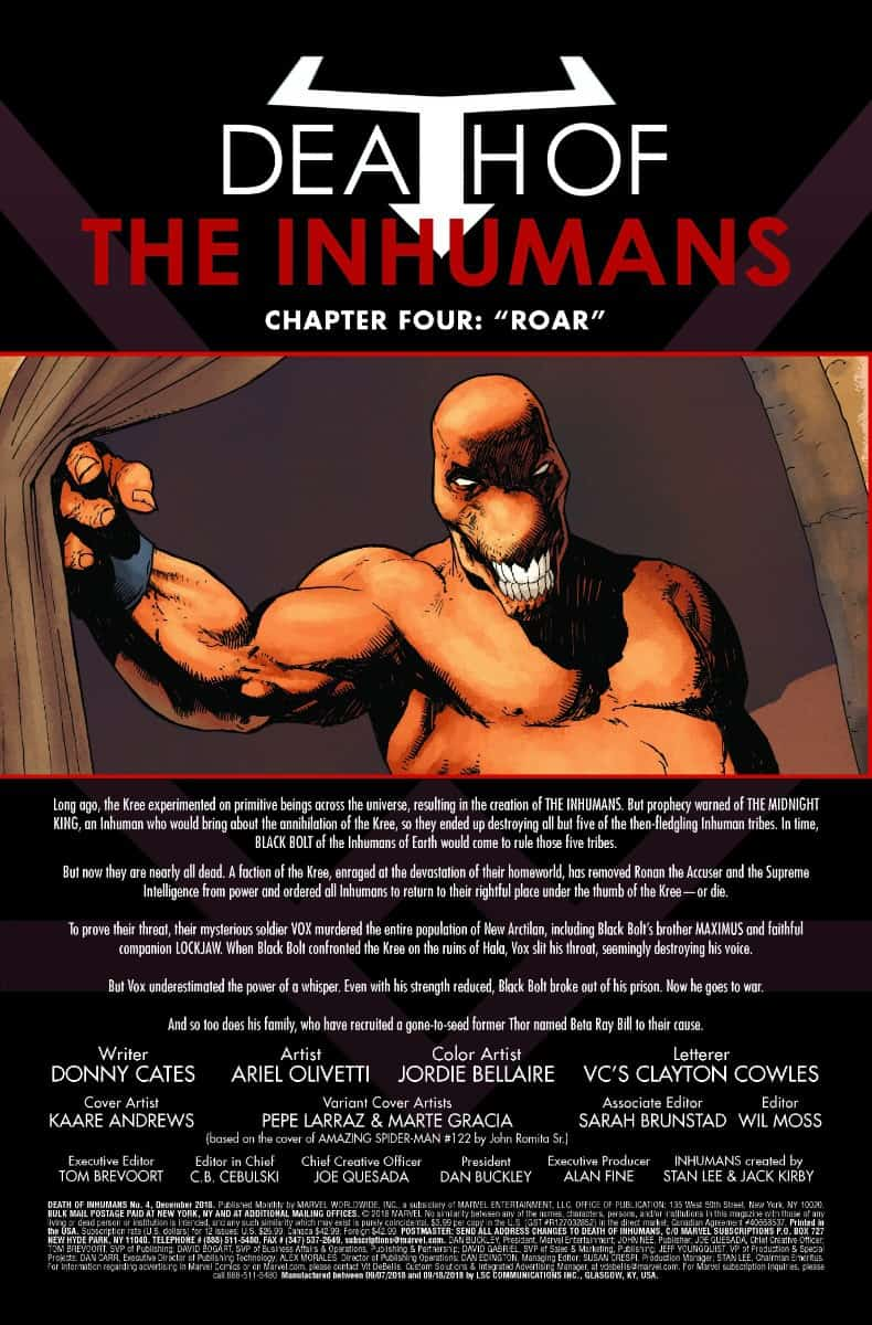 death of the inhumans #4