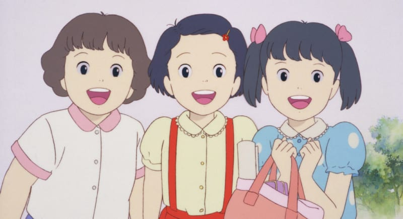 Only Yesterday Anime Faces