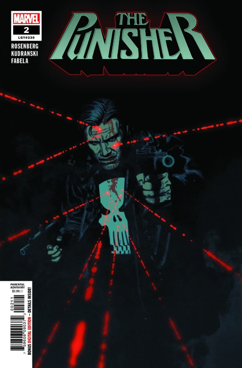 THE PUNISHER #2 cover page 1