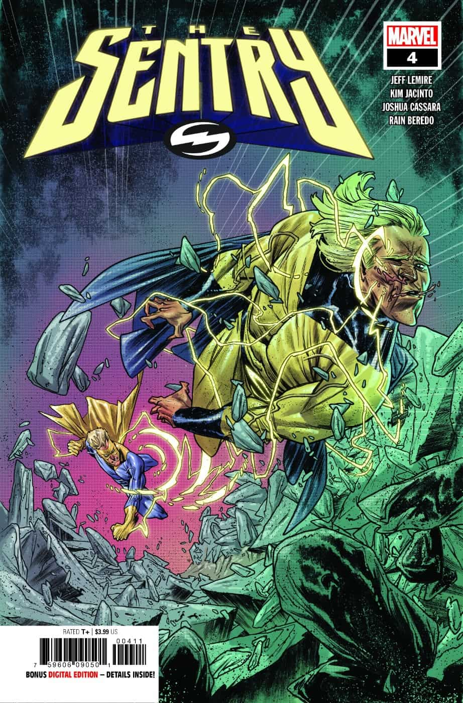 THE SENTRY #4 cover page 1