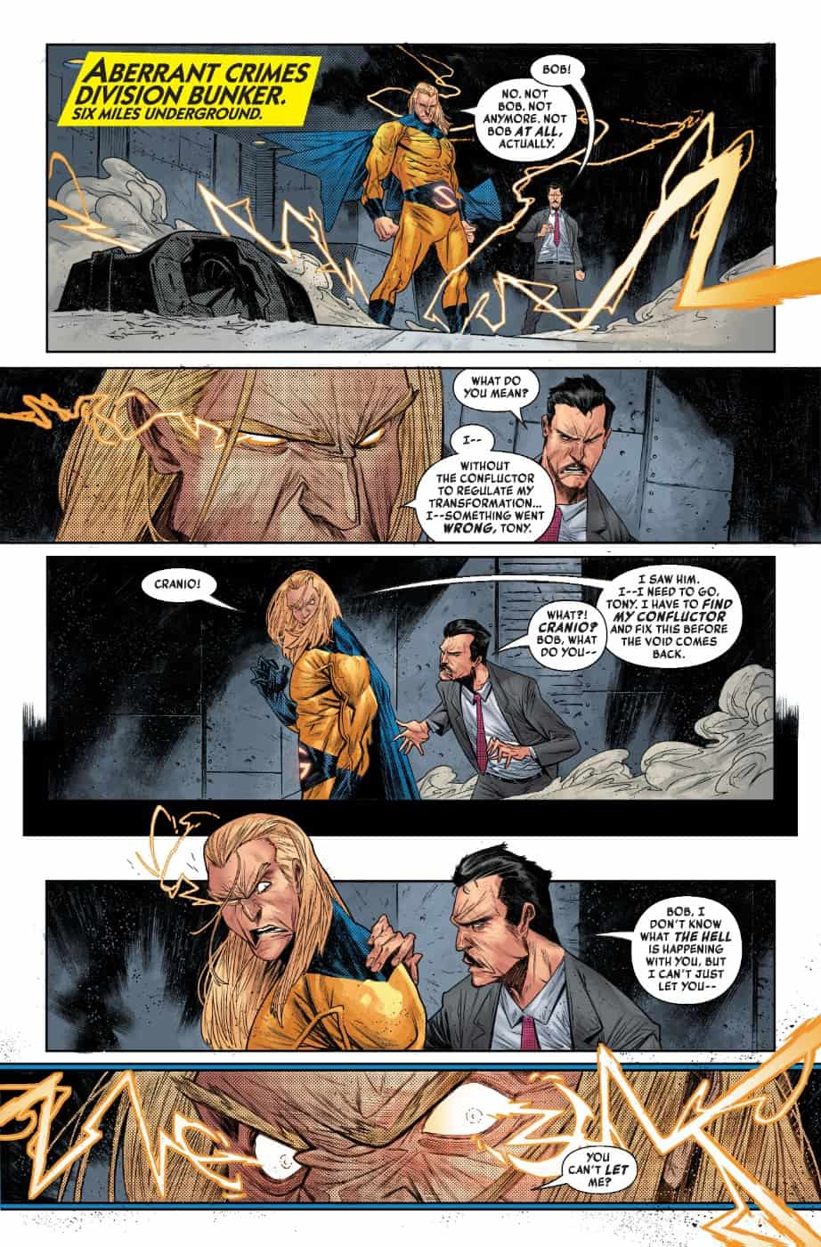 THE SENTRY #4 page 5