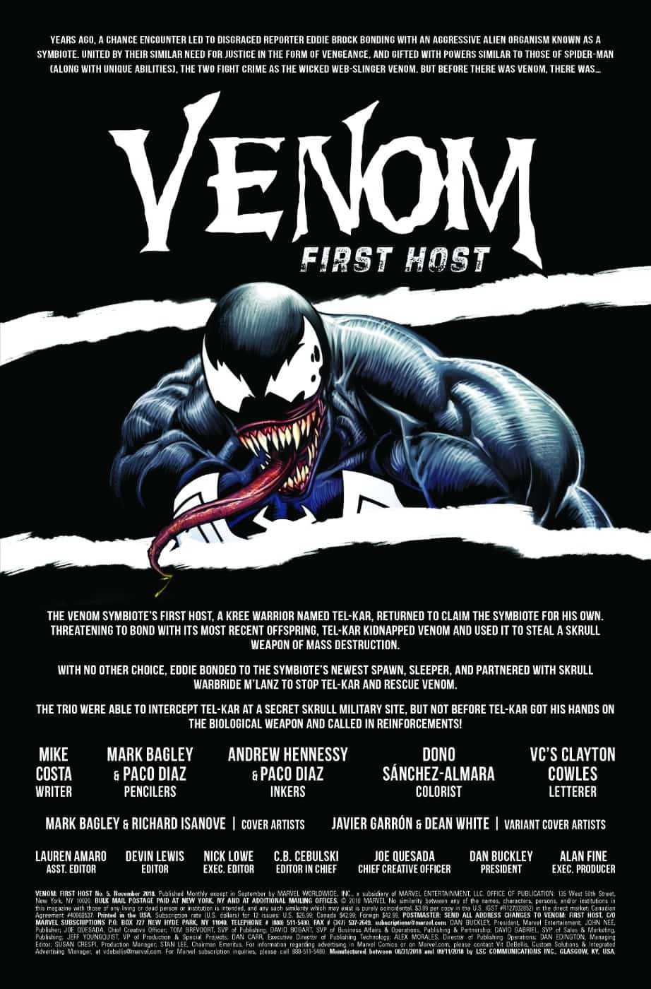 VENOM: FIRST HOST #5 page 2